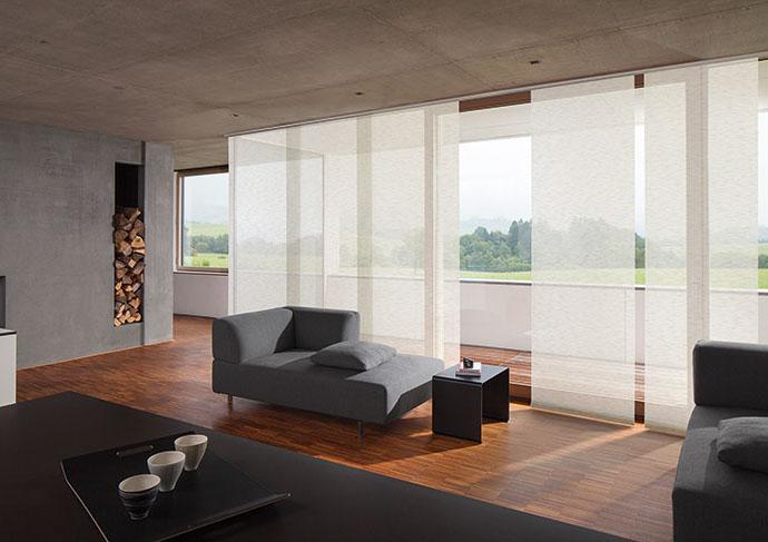 Flächenvorhänge gibt es bei Textil Müller 90765 Fürth Stadeln